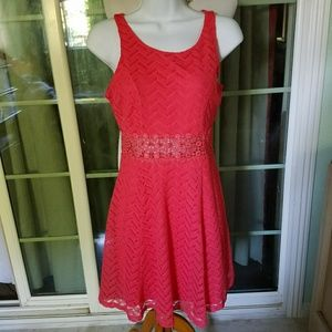 Sequin Hearts Dress Size 5